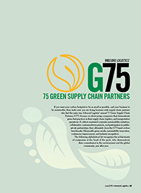 G75: 75 Green Supply Chain Partners 2015 Cover