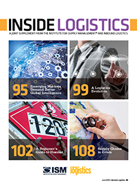 Joint Supplement: Inside Logistics Cover