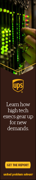 UPS High Tech Skyscraper Ad