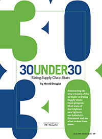 30 Under 30: Rising Supply Chain Stars Cover