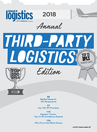 2018 Annual Third-Party Logistics Edition Cover