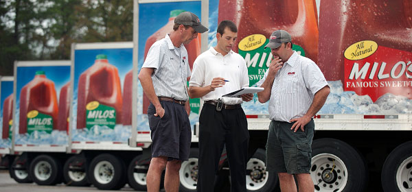milo's tea truck drivers