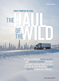 Freight Transport in Alaska Cover