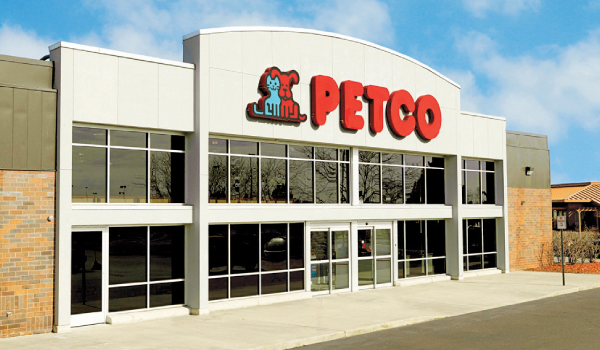 PETCO retail storefront