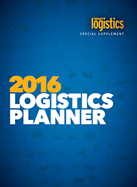 2016 Logistics Planner Cover