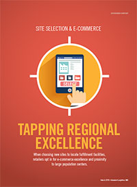 Site Selection & E-Commerce: Tapping Regional Excellence Cover