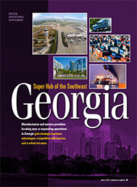 Georgia: Super Hub of the Southeast Cover