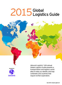 2015 Global Logistics Guide Cover