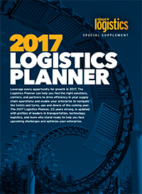 2017 Logistics Planner Cover