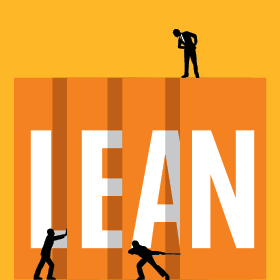 Illustration representing Lean improvements