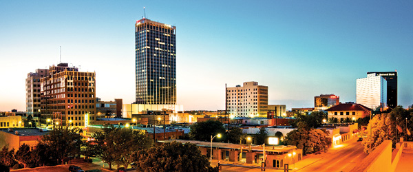 Amarillo, Texas skyline