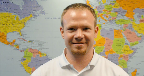 David Ayers, Lead business analyst, warehouse management, Newell Rubbermaid