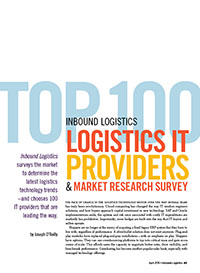 Top 100 Logistics IT Providers & Market Trends Cover