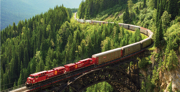 Canadian Pacific train