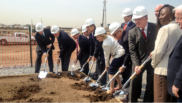 Prologis ground-breaking ceremony