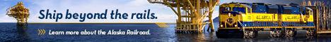 Alaska Railroad Banner Ad