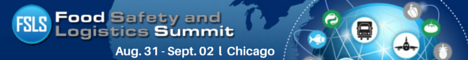 Food Safety & Logistics Summit Banner Ad