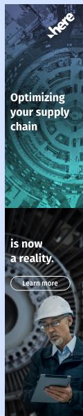 HERE Technologies skyscraper ad