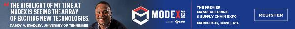 MHI-MODEX banner ad
