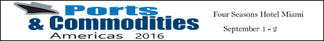 Ports and Commodities Americas 2016 Banner Ad