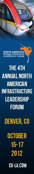 4th Annual North America Infrastructure Leadership Forum Skyscraper Ad
