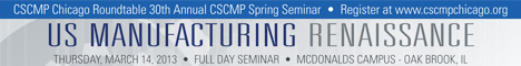 CSCMP Chicago Summit Banner Ad