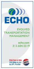 Echo Global Logistics Skyscraper Ad