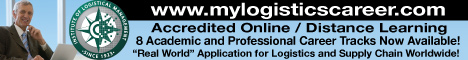 Institute of Logistics Management Banner Ad