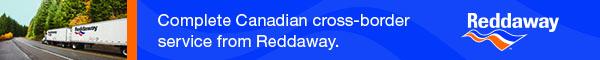 Reddaway Canada Banner Ad