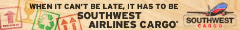Southwest Air Cargo Banner Ad