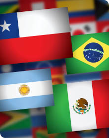Latin America Country Flad