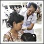 Nurse Giving Flu Vaccine