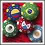 Latin Country Poker Chips