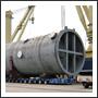 Huge Pipe Ocean Freight Unloading
