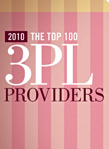 Top 100 3PL Providers Chart 2010