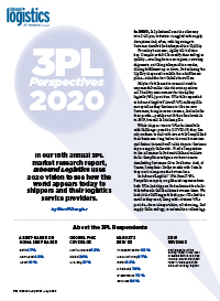 3PL Perspectives 2020 Cover