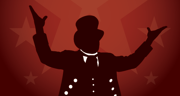 Illustration of a ringmaster