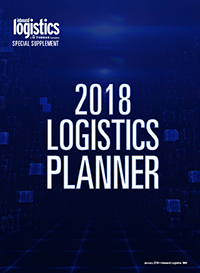 2018 Logistics Planner Cover