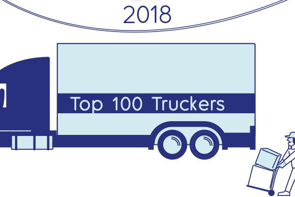 2018 Top 100 Truckers - Inbound Logistics