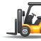 Forklift illustration