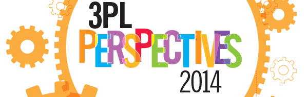 3PL Perspectives 2014 logo with overlapping gears