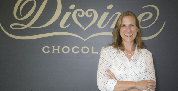Tamsen Fricke, operations manager, Divine Chocolate USA